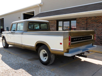 1973 1210 Travelette Crew Cab Long Bed Camper Special