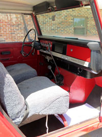 1969 IH Scout 800A Traveltop 4x4