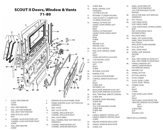 Scout Connection Cab Bodies Amp Front Sheet Metal Page